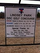 Lindsey_Park_Disc_Golf_course_sign