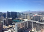 The view from the Bellagio. (Spence/98.5 KLUC)